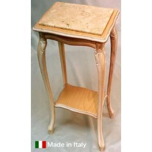 輸入家具 イタリア家具電話台(天板 大理石) e-kirakukan