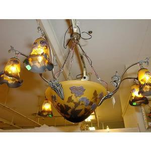 輸入照明 ルーマニア製 シャンデリア6灯|e-kirakukan
