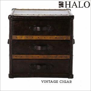 受注生産:HALO ハロ ストニーハーストラージランプテーブル(ヴィンテージシガー) e-kirakukan