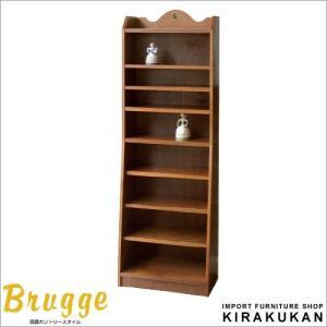 三越 ブルージュ 書棚 シェルフ 60 英国カントリー家具 hk60|e-kirakukan
