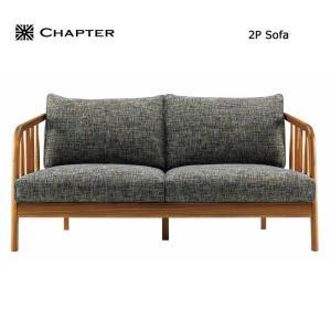 【商品名】英国スタイル家具 CHAPTER・チャプター 2P SOFA ソファー 2人掛け【サイズ】...
