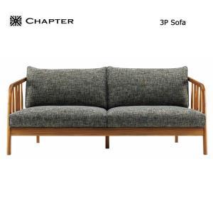 【商品名】英国スタイル家具 CHAPTER・チャプター 3P SOFA ソファー 3人掛け【サイズ】...