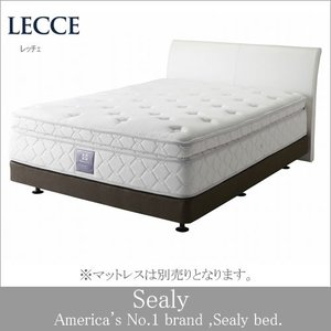シーリーベッド ベッドフレーム Lecce レッチェ ダブルサイズ 日本規格|e-kirakukan