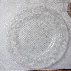 ガラス食器・オフィリア ディナープレート 皿 29cm トルコ製