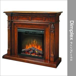電気式暖炉 Dimplex(ディンプレックス) トーチャードウォールナット+グラスドア付(1500W専用昇圧トランス付き) 32インチ e-kirakukan