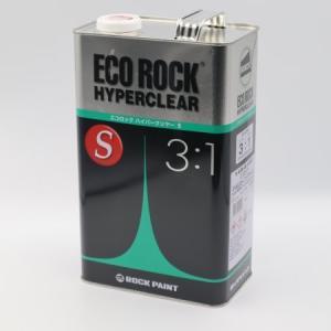 エコロック ハイパークリヤー S 4kg (主剤) [ロックペイント]|e-koei