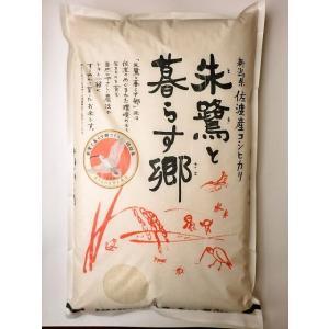 米 5kg 新潟産コシヒカリ お米 新潟 佐渡 朱鷺と暮らす郷米 30年産|e-koshihikari|02