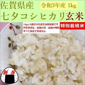 玄米 1kg 新米 こしひかり 佐賀県産 30年産 e-koshihikari