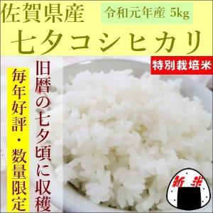 新米 29年産 七夕こしひかり 佐賀県産 5kg...