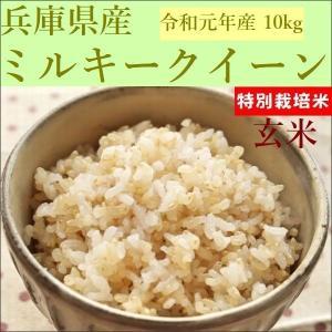 特別栽培米 玄米 ミルキークイーン 10kg(5kg×2袋)30年産|e-koshihikari