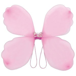 ファンシーなちょうちょの羽 桃 / 蝶々 はね