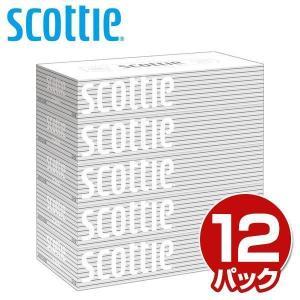 スコッティ ティッシュペーパー 200組 5箱×12パック 41735 ティシュペーパー まとめ買い...
