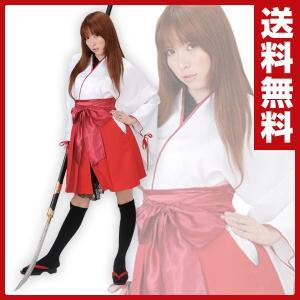 【送料無料】 丸惣  OUTLAW SWEET コスプレ 巫女 着物/袴風スカート  MJP-604...
