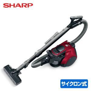 【送料無料】 シャープ(SHARP)  サイクロン掃除機  EC-VP1R レッド  ●本体サイズ:...