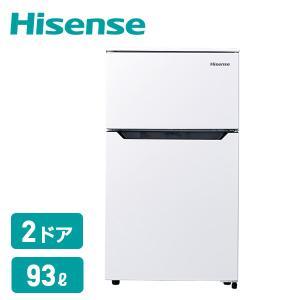 【送料無料】 ハイセンスジャパン(Hisense)  2ドア 冷凍冷蔵庫 93L (冷蔵室67L/冷...