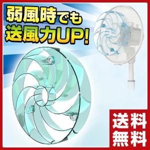 快風!強マリーナ YA-U28(BL) 扇風機 アタッチメント つよまりーな 強まりーな サーキュレーター e-kurashi
