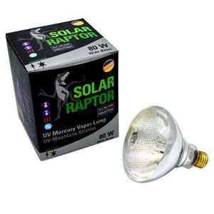 ソーラーラプター マーキュリーランプ 80W 安定器内臓UVランプ ソーラーラプターUVマーキュリーランプ 安定器内臓UVランプ