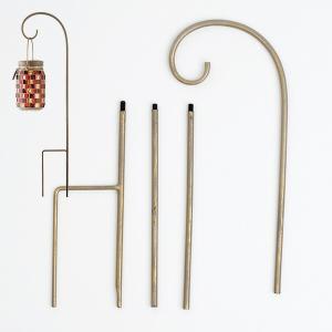 【送料無料】 キシマ  ハンギングスティック  KL-10351 アンティークゴールド  ●材質:ス...