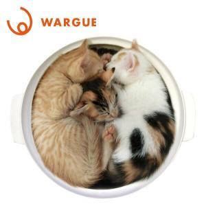 鍋型 ヒーター内蔵 猫 ベッド WG-001M 猫鍋 ねこ鍋 ネコ鍋 ヒーター 猫用ベッド ベッド ...