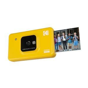 カメラ機能付きインスタントプリンター C210YE イエロー チェキ プリンター 写真 プリントトイ...