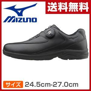 ウォーキングシューズ メンズサイズ24.5cm-27.0cm LD40 Boa ブラック ビジネスシューズ 男性 シューズ 靴 スニーカー 軽い Boaクロージャーシステム Boa LD-40|e-kurashi