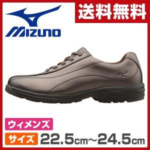 ウォーキングシューズ レディースサイズ22.5cm-24.5cm LD40  ブロンズ ウィメンズ 女性 シューズ 靴 スニーカー 軽い LD-40|e-kurashi