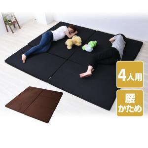 マットレス 4人用 幅240 (セミダブル 2枚組)  家族マットレス 日本製  MK5-FML 240 バランス マットレス ベッドマット ファミリーサイズ 家族|e-kurashi