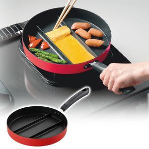 センターエッグパン(ガスコンロ専用) 24cm A-77052/A-77053 卵焼き たまご焼き ...