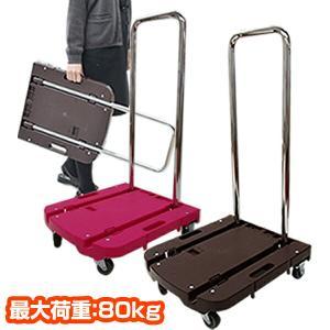 【送料無料】 山善(YAMAZEN)  自立式 折りたたみ台車 Carryおてがる  OTG-E50...