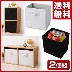 収納ボックス 2個セット A4対応 A4カラーボックス対応 カラーボックス インナーボックス 2個組|e-kurashi