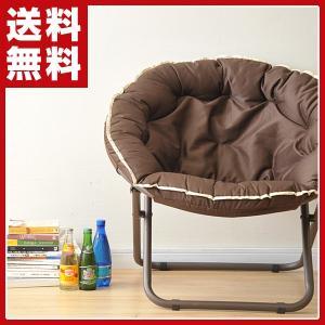 折りたたみチェア ETG-80(BR) ブラウン パーソナルチェア 1人掛けソファ いす イス 椅子