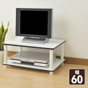 テレビ台(幅60) YWTV-6040(WH/WH) ホワイト TV台 TVボード テレビボード テレビラック【あすつく】|e-kurashi