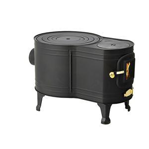 黒耐熱 窓付時計型薪ストーブ ASW-60B【あすつく】 e-kurashi