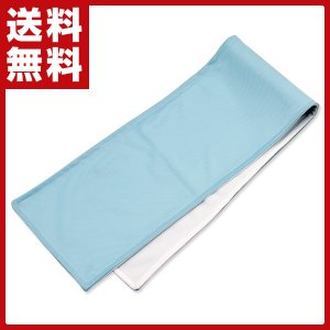 サラッとクールタオル U-R342 ブルー ひんやりシート 冷却シート 冷却タオル 冷感タオル 節電 省エネ 暑さ対策|e-kurashi