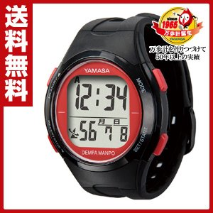 ウォッチ万歩計 DEMPA MANPO TM-500(B/R)【あすつく】|e-kurashi