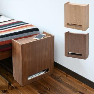 【送料無料】 山善(YAMAZEN)  ケーブルボックス 木製 タップ ルーター 収納ボックス 完成...