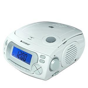 CDクロックラジオ CD-RC118 アラーム 目覚まし CD再生 ラジオ BGM|e-kurashi