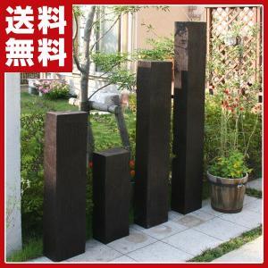 FRP軽量樹脂枕木613(高さ60厚さ13cm) AKS-57047 ガーデニング 枕木 ウッドフェンス 柵|e-kurashi