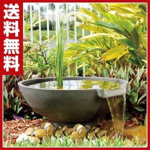 スイレン滝セット ウォーターインテリア 庭園 ガーデン 池作り|e-kurashi