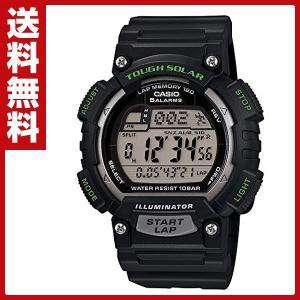 スポーツギア(SPORTS GEAR)腕時計 STL-S100H-1AJF ソーラー充電 ラップ スプリットタイム インターバル計測 防水|e-kurashi