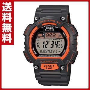スポーツギア(SPORTS GEAR)腕時計 STL-S100H-4AJF ソーラー充電 ラップ スプリットタイム インターバル計測 防水|e-kurashi