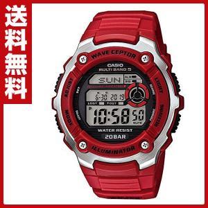 スポーツギア(SPORTS GEAR)腕時計 WV-M200-4AJF ラップ スプリットタイム インターバル計測 防水|e-kurashi