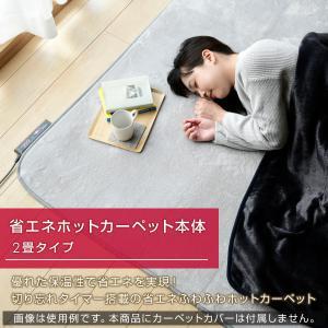 ホットカーペット 2畳 本体 日本製 エコ 省...の詳細画像1