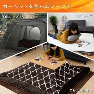 ホットカーペット 2畳 本体 日本製 エコ 省...の詳細画像2