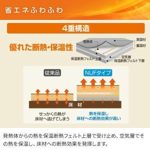 ホットカーペット 2畳 本体 日本製 エコ 省...の詳細画像3