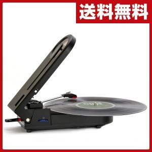ポータブル レコードプレーヤー 多機能オーディオMP3デジタル録音機能付き AC/DC兼用 PT-208E マルチレコードプレーヤー レコーダー マルチプレーヤー|e-kurashi