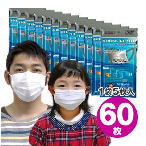高機能マスク モースガード 60枚(5枚入×12袋) N95より高性能N99マスク 送料無料|e-lensstyle