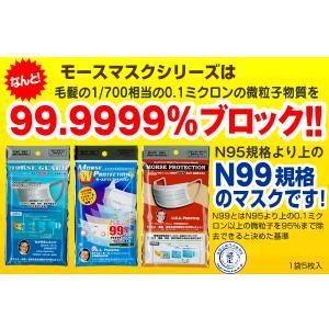 高機能マスク モースダブルプロテクション 15枚(5枚入×3袋) N95より高性能N99マスク メール便 送料無料|e-lensstyle|02