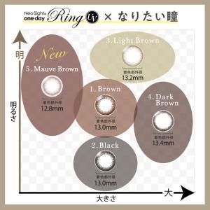 カラコン カラーコンタクトレンズ ワンデー 度あり 度なし ネオサイトワンデーリングUV 30枚入|e-lensstyle|02