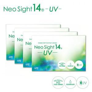 コンタクトレンズ ネオサイト14UV  4箱セット 送料無料  配送方法選択可 ポイント10倍|e-lensstyle
